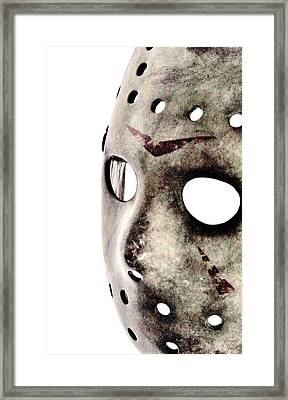 Jason's Phone Framed Print by Benjamin Yeager