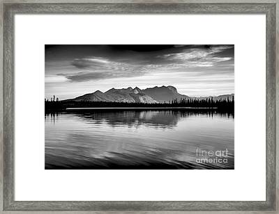 Jasper Lake Framed Print