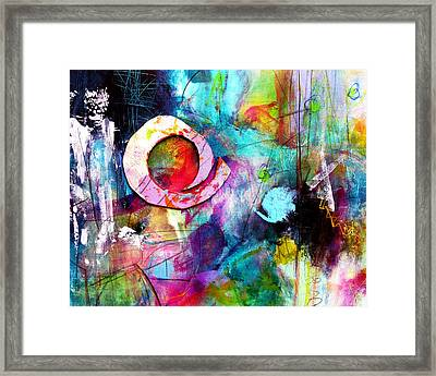 Framed Print featuring the painting Jaunt by Katie Black