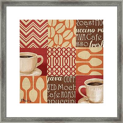 Java Collage I Framed Print by Paul Brent