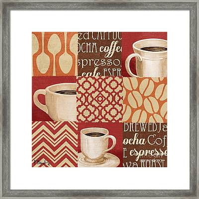 Java Collage II Framed Print by Paul Brent
