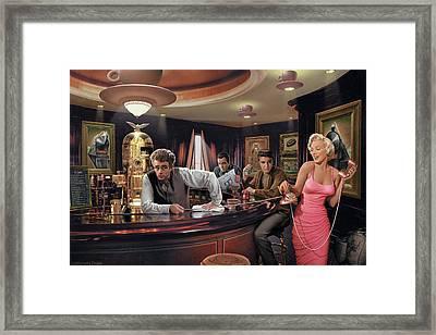 Java Dreams Framed Print by Chris Consani