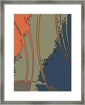 Java-i Framed Print by Charles Rayburn