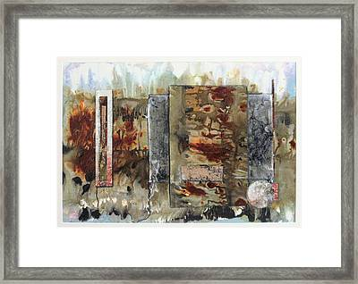 Java Framed Print by Lee Canalizo