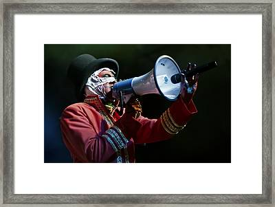 Java Of Here Come The Mummies Framed Print