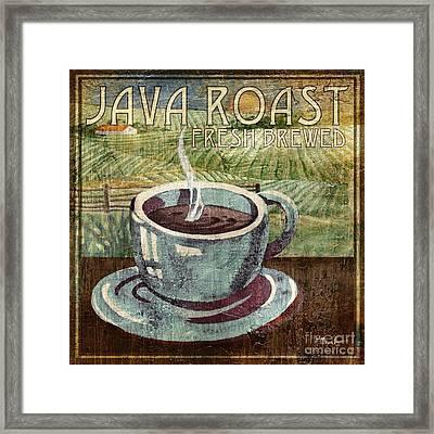 Java Roast Framed Print by Paul Brent