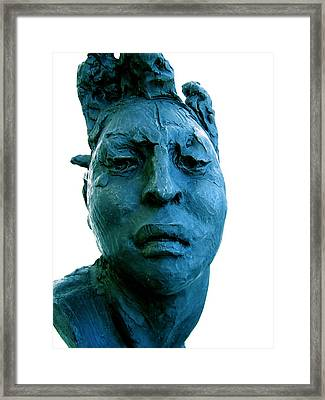 Javier Marin Sculpture Framed Print by Micael Pace