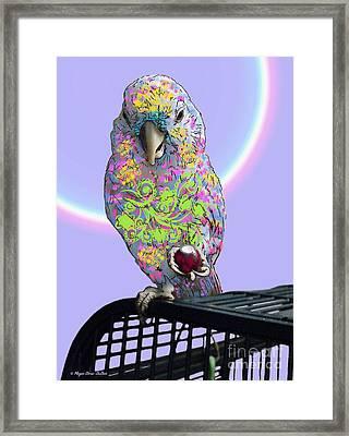 Framed Print featuring the photograph Jawbreaker-dandy by Megan Dirsa-DuBois
