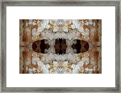 Jaw's Cave Framed Print by John Johnson