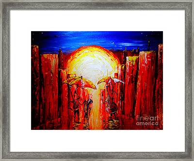 Jax Jazz Framed Print by Viktor Lazarev