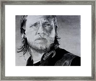 Jax Framed Print by Jonathan Moore