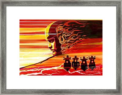 Jax Teller Framed Print