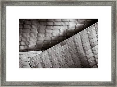 Framed Print featuring the photograph Jay Pritzker Pavilion  by James Howe