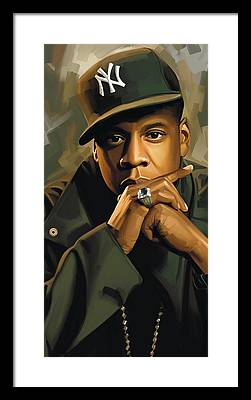 Jay Z Framed Prints