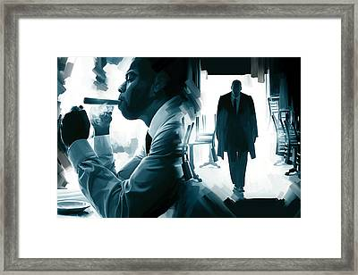 Jay-z Artwork 3 Framed Print by Sheraz A