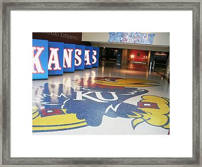 Jayhawk Pride Framed Print by Paul Ganser