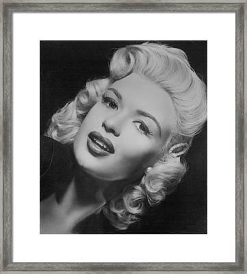 Jayne Mansfield Framed Print
