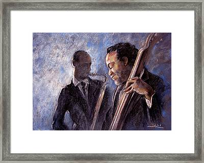Jazz 02 Framed Print