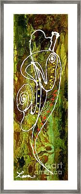 Jazz 1 Framed Print by Leon Zernitsky