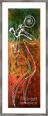Jazz 2 Framed Print by Leon Zernitsky