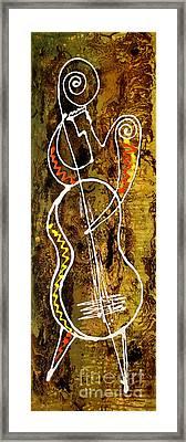 Jazz 3 Framed Print by Leon Zernitsky