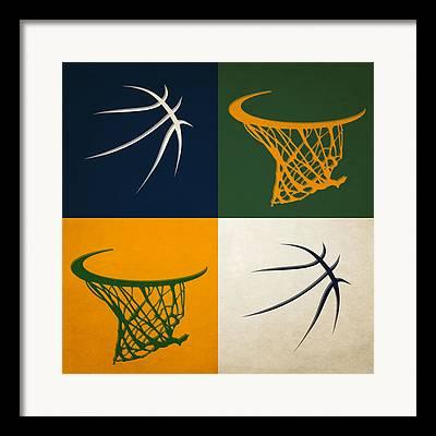 Utah Jazz Framed Prints
