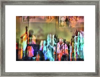 Jazz Band Framed Print by Jeff Breiman