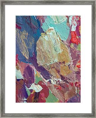 Jazz Block Framed Print by David Lloyd Glover