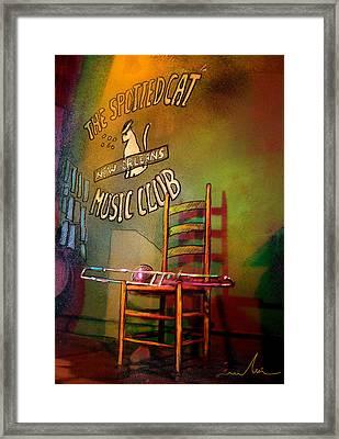 Jazz Break In New Orleans Framed Print
