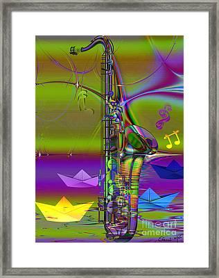 Jazz Chill Framed Print