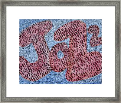 Jazz Framed Print by Diane Pape