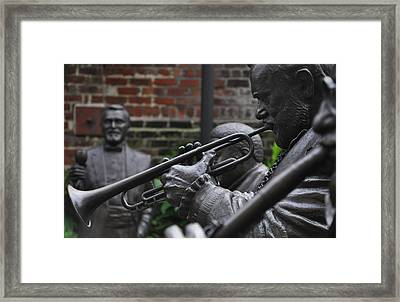Jazz Legends Al Hirt And Pete Fountain - New Orleans Framed Print