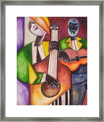 Jazz Men Framed Print