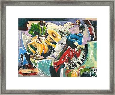 Jazz No. 3 Framed Print by Elisabeta Hermann
