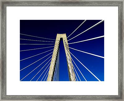 Jazz Of Charleston  Framed Print by Karen Wiles