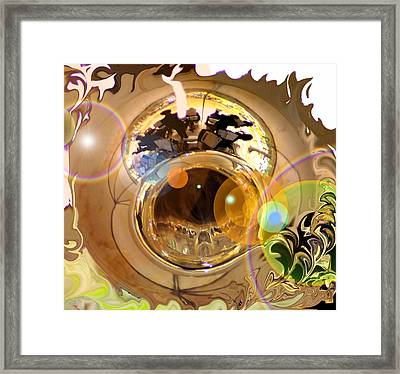 Jazz Reflections Framed Print