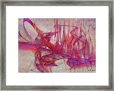 Jazz Rhythm Framed Print by Michael Durst