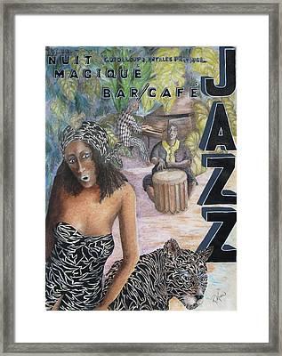 Jazz Framed Print by Roy Kenen