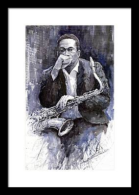 Jazz Framed Prints