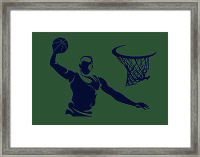 Jazz Shadow Player1 Framed Print
