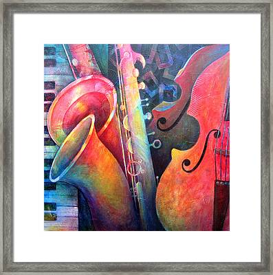 Jazz  Framed Print by Susanne Clark