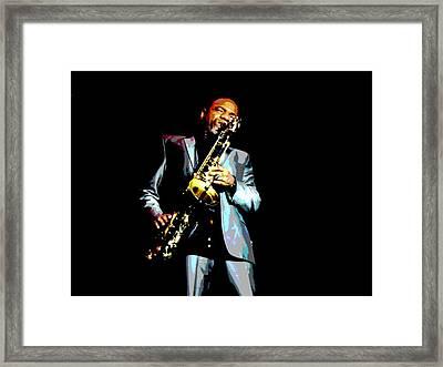 Jazzman Framed Print