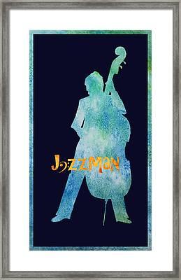 Jazzman Framed Print by Jenny Armitage