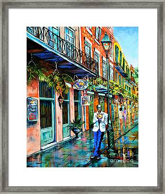 Jazz'n Framed Print by Dianne Parks
