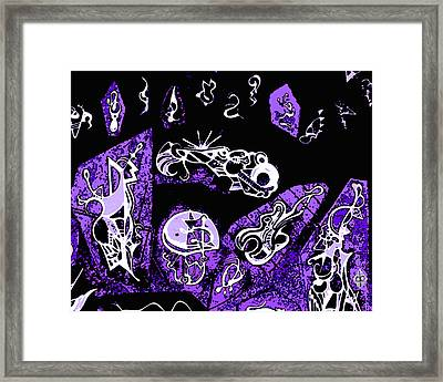 Jazzology Framed Print