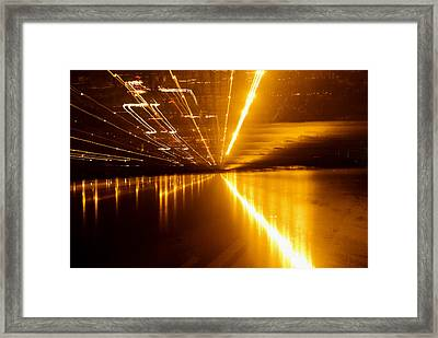 Jazzy Light Framed Print