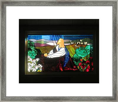 Framed Print featuring the photograph Jc In Prayer by Marie Neder