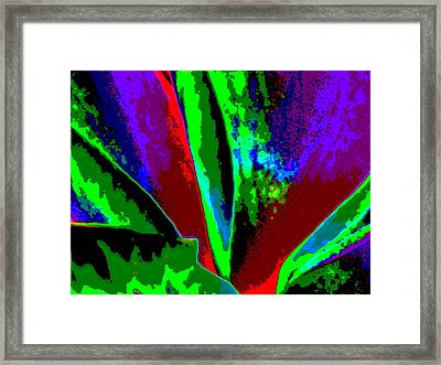 Jealous Rage Framed Print by Rebecca Flaig