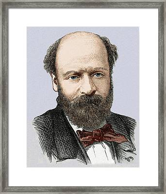 Jean Augustin Barral Framed Print