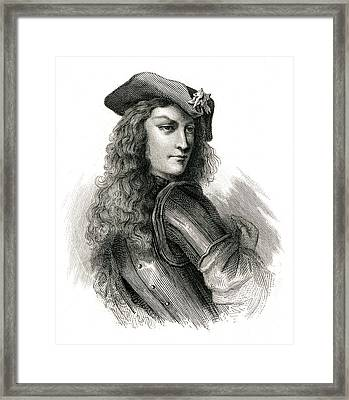 Jean Cavalier  French Insurgent, Leader Framed Print by Mary Evans Picture Library